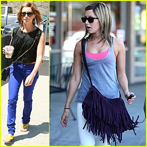 Ashley Tisdale is in a Fringe Frenzy