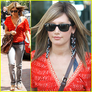 Ashley Tisdale Goes InStyle