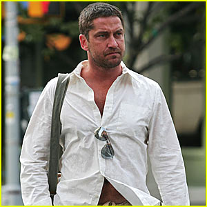 Gerard Butler is Spring Street Natural