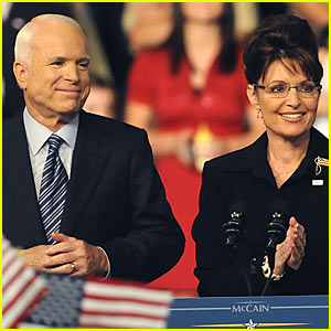 John McCain to Sarah Palin: I Choose You!