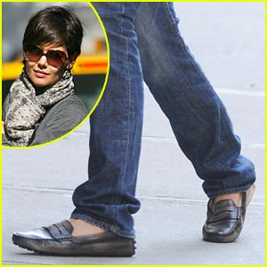 Katie Holmes is a Loafers Lady