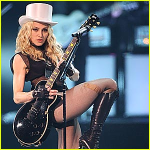Madonna Sticky & Sweet Tour Pictures -- FIRST LOOK!