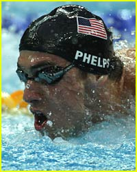 Michael Phelps Wins By A Nose