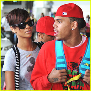 Rihanna and Chris Brown's Mickey Mouse Magic