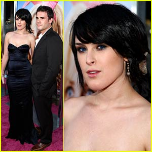 Rumer Willis is Micah Alberti's Bunny