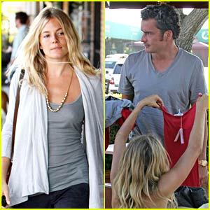 Sienna Miller Makes It To Malibu