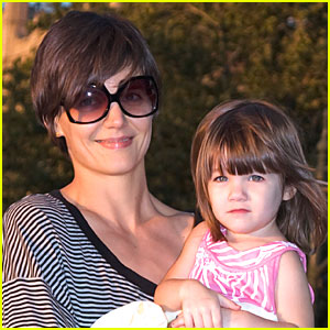 Suri Cruise is a Downtown Girl