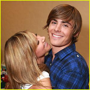 Zac Efron & Ashley Tisdale Keep Close
