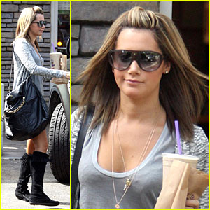 Ashley Tisdale is a Coffee Fiend