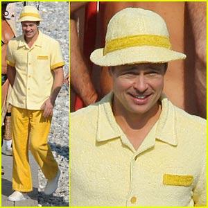 Brad Pitt: Hello, Yellow!