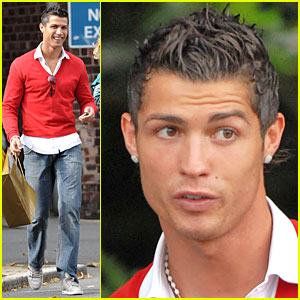 Cristiano Ronaldo Shops 'Til He Drops
