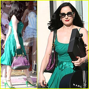 Dita Von Teese Has A Beautiful Aurora