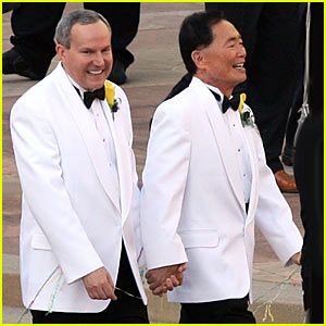 George Takei Wedding Pictures -- FIRST PICS