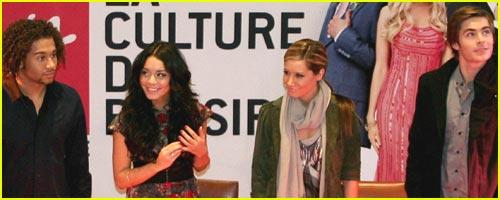 High School Musical Hits Virgin Megastore