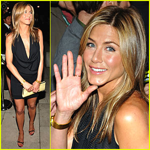 Jennifer Aniston Takes Toronto