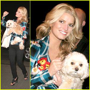 Jessica Simpson Has a Pretty Puppy
