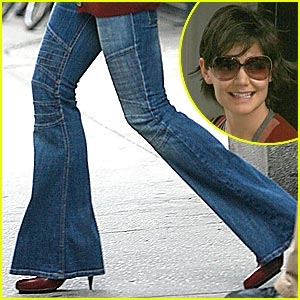 Katie Holmes: Bell-Bottoms Are Back!