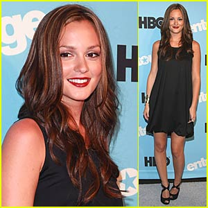 Leighton Meester Gives a Fendi High Five