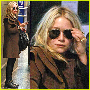 Mary-Kate Olsen is a Milan Maven