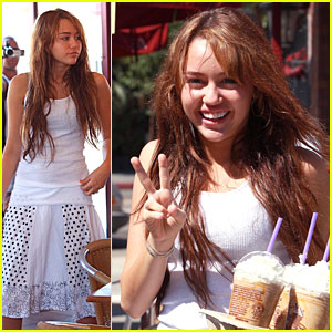 Miley Cyrus In The City