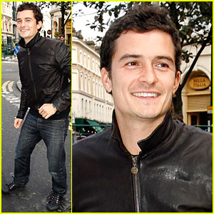 Orlando Bloom Eyes the Ivy