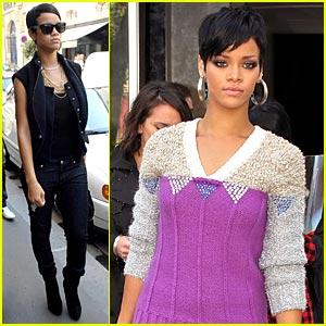 Rihanna Shops Must-See Marais