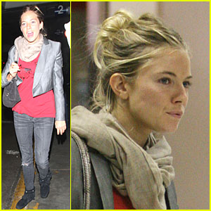 Sienna Miller Has a Los Angeles Landing