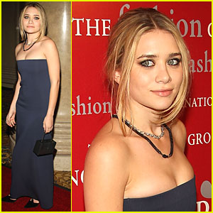 Ashley Olsen is a Fashion Fan
