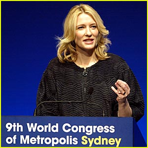 Cate Blanchett Opens World Congress of Metropolis