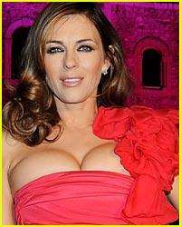 Liz Hurley Has Magical Push-Up Powers
