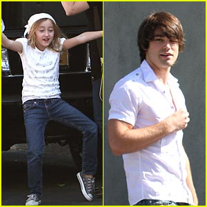 Justin Gaston & Noah Cyrus are Church Buddies