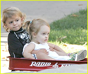 Kingston Rossdale's Ruby Playdate