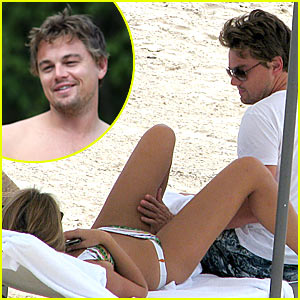 Leonardo DiCaprio Living The Thigh Life