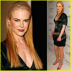 Nicole Kidman Receives Elle Hollywood Tribute