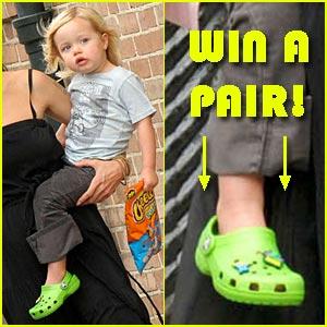 Win Shiloh Jolie-Pitt's Crocs!