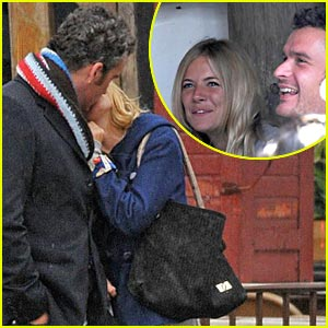 Balthazar Getty's SoHo Kiss With Sienna