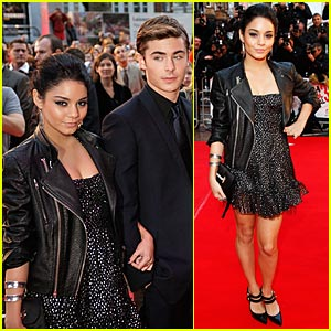 Vanessa Hudgens Premieres HSM3 in London