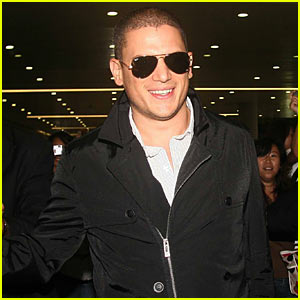 Wentworth Miller Is Fine China