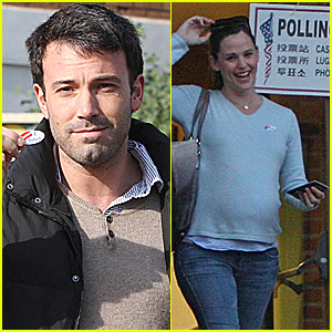 Ben & Jen: We Voted!