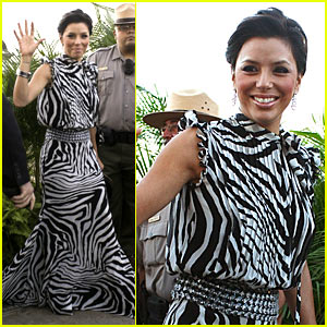 Eva Longoria Hits Roselyn Sanchez's Wedding