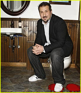 Joey Fatone Opens NYC Toilet