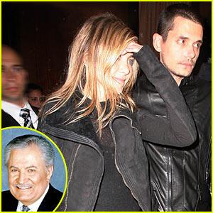 Jennifer Aniston to John Mayer: Meet My Dad!