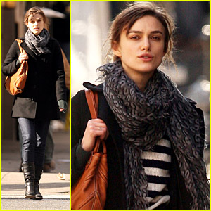 Keira Knightley Soaks In Soho
