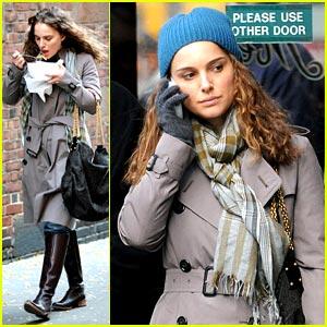 Natalie Portman is a Blue Beanie Babe