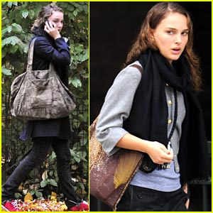 Natalie Portman Picks the Park