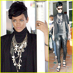 Rihanna Channels Mr. T