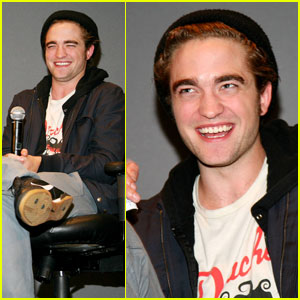 Robert Pattinson 2008 on Robert Pattinson Adores Apple   Catherine Hardwicke  Robert Pattinson