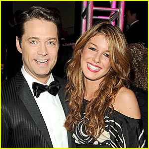 Jason Priestley & Shenae Grimes Meet Up