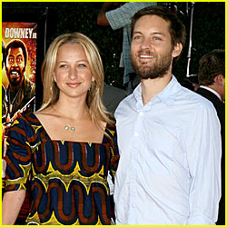 Tobey Maguire: Second Child