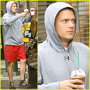 Wentworth Miller is Red Shorts Sexy